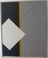 QUADRAT-WEISS 1  1984 (HolgerArt) Tags: konstruktivismus gemälde kunst art acryl painting malerei farben abstrakt modern grafisch konstruktiv