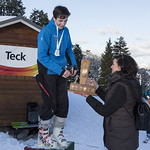Cameron Seward (Grouse Mountain Tyee Ski Club) wins 2019 Teck Enquist Slalom Trophy PHOTO CREDIT: Michael Iwasaki