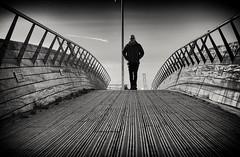 Me by @visualtheatrics (teltone) Tags: canon mono nik silverefex manual portrait bridge natural liverpool bw