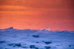 Fire and Ice (Mark Polson) Tags: lakesuperior tofte mn bluefinbayresort seasmoke