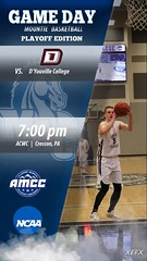 AMCC Basketball Playoffs vs. D'Youville (Mount Aloysius College) Tags: amcc basketball playoffs mountaloysiuscollege mount aloysius college mounties mountie pride