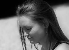 Anja (ludwigrudolf232) Tags: portrait frau anja einfarbig
