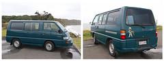 Boba Fett the Van (Paul J's) Tags: van vehicle mitsubishi l300 ohawe ohawebeach taranaki bobafett