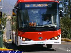 BYD K9FE (FLXV51) de la empresa Metbus comenzando el recorrido 519. (Alexongis) Tags: byd k9fe bus buses china export chinese buildyourdreams bydchile bydchina