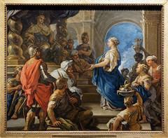 Solomon and the Queen of Sheba (~1697, Luca Giordano) (Whidbey LVR) Tags: altepinakothek alte pinakothek museum munich münchen art painting lyle rains lylerains olympus epl5 salome königin saba