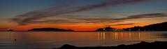 Tramonto su Talamone (adzamba) Tags: 2018 fonteblanda toscana italy ita isoladelgiglio mare sea sunset talamone tramonto viatalamonese