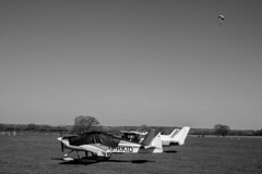 (rudiwilsonphotos) Tags: bw blackandwhite baw plane flying sky diving scenic canon 750d monochrome
