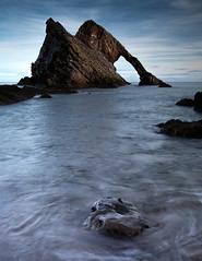 Bow Fiddle Rock (PeskyMesky) Tags: aberdeenshire bowfiddlerock scotland longexposure landscape water sea ocean canon canon5d eos