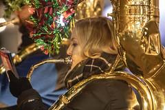 Tuba Christmas (Ben Adams Photography) Tags: washington dc washingtondc gw georgewashingtonuniversity tuba music tubachristmas holiday holidays band bands