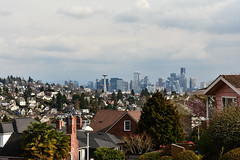 Early Spring Seattle Views 10 (C.M. Keiner) Tags: seattle washington usa city cityscape skyline mountains pacific northwest puget sound spring trees blossoms urban magnolia streetscape cherry