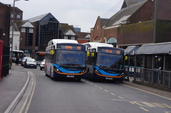IMGP8671 (Steve Guess) Tags: guildford surrey england gb uk stagecoach bus alexander dennis enviro 200 mmc electric battery parkride glide