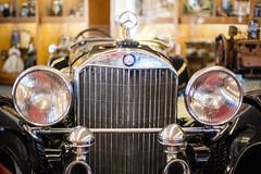 1931 Mercedes SSK (JBAdams) Tags: bobbahrecollection maine mercedes mercedesssk mercedesbenz nikond700 zeiss zeisszf5014planar automobile availablelight car manualfocus wwwjonathanbadamscom bokeh