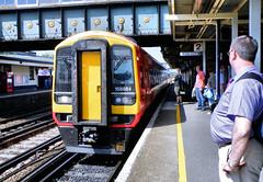 158884 (R~P~M) Tags: train railway dmu diesel multipleunit 158 england uk unitedkingdom greatbritain stagecoach southwesttrains eastleigh hants hampshire