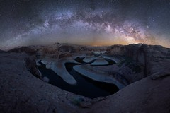 Reflection Canyon Milkyway (kenxu78) Tags: southwest night milkyway page utah arizona lakepowell reflectioncanyon