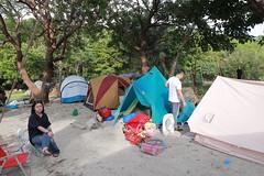 IMG_7316 (諾雅爾菲) Tags: taiwan camping 台灣 墾丁 露營 香蕉灣原始林露營區 熊帳 coleman 印地安帳