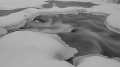 Royal River-190121-06 (tombealphotos) Tags: acros blackandwhite ice landscape longexposure maine nature river riverscape royalriver xh1 xf1655mmf28rlmwr