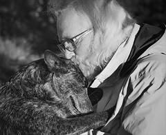 A Dog's Purpose (Kathy Macpherson Baca) Tags: love dogs dog world devotion man earth planet cattledog emotion affection