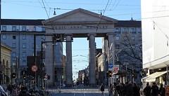 Milano (46) (pensivelaw1) Tags: italy milan statues trump starbucks romanruins thefinger trams cakes architecture