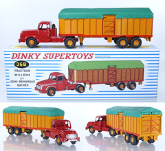 DIF-A-36B-Willeme-Artic (adrianz toyz) Tags: dinky toys toy model vehicle france french atlas reissue willeme truck lorry semi diecast articulated adrianztoyz 36b covered bulk transporter supertoys