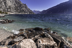 limone sul garda (marco_brst) Tags: gardalake landscape lagodigarda rocks water amazing lombardia italy view mountain nature natura blue colour waves
