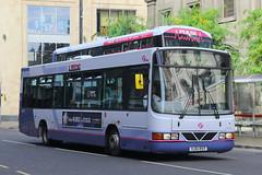 YJ51 RSY, Boar Lane, Leeds, September 7th 2016 (Southsea_Matt) Tags: yj51rsy 40576 wright crusader volvo b6ble first boarlane leeds westyorkshire england unitedkingdom canon 60d sigma 1850mm september 2016 autumn bus omnibus vehicle passengertravel publictransport