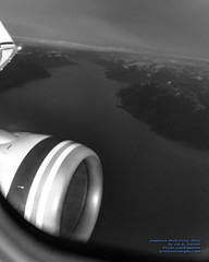 Looking Down Turnagain Arm From 8562.5 Feet ASL at 0114 Local in B&W (AvgeekJoe) Tags: 737990 737990erwl aerialphotograph alaska114 alaskaair alaskaairlines alaskaflight114 boeing737 boeing737900 boeing737990 boeing737990erwl d5300 dslr jetliners n423as nikon nikond5300 turnagainarm aerial aerialphoto aerialphotography aircraft airplane aviation jetliner plane