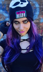 Monster High Girl (Nicole Argento) Tags: alternative colors creepy cute dark doll fashion girl goth gothgirl gothic hair high human lady magic monster occult outfit purple skullgirls style violet witch witchy altfashion gothstyle monsterhunterfanart monsterhigh monsterhighoriginalcharacter witchystyle