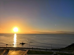 Great sunrise over Galway Bay (MargrietPurmerend) Tags: galway salthill wildatlanticway atlantic ocean sunrise