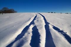 On the Road (sevdelinkata) Tags: snow landscape sky road bulgaria