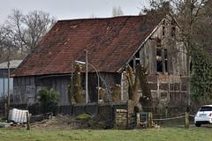 Scheune (grasso.gino) Tags: haus scheune house barn ruine löcher holes nikon d7200