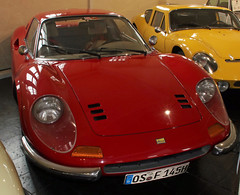 Dino (Schwanzus_Longus) Tags: automuseum melle german germany old classic vintage car vehicle coupe coupé ferrari dino 246 gts