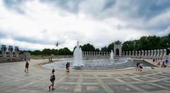 World War II Memorial - Washington DC - USA (Ferdi's - World) Tags: citytripwashington citytripwashingtondc exploreusa explorewashington explorewashingtondc groen roadtripusa