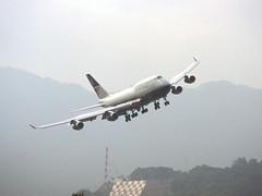 British Airways 747 'G-CIVD' City of Coventry (Longreach - Jonathan McDonnell) Tags: britishairways boeing 747 747400 scan scanfromaslide 1990s 1997 1242019 kaitak hongkong igs checkerboardhill cityofcoventry landorlivery gcivd