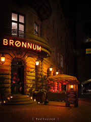Brønnum (amipal) Tags: 175mm capital city copenhagen denmark europe holiday lowlight manuallens night restaurant travel urban voigtlander