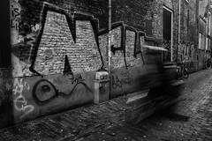 Speedy Bakfiets  Nl (JONES4130) Tags: bakfiets graffiti niederlande delft holland