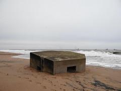 Bunker (Ian Robin Jackson) Tags: bunker remnant worldwarii aberdeen coast sea scotland donmouth building aged sand ships water