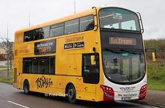 Bus Eireann VWD42 (151C7159). (Fred Dean Jnr) Tags: buseireann vwd42 151c7159 cork jacobsislandcork march2019 alloverad todayfm volvo b5tl wright wrightbus gemini3 eclipse
