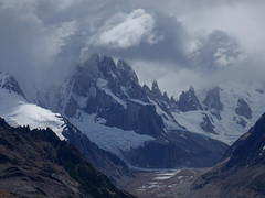 Mountain of Storms (lvalgaerts) Tags: el chaltén fitz roy mount chalten mountain andes fog clouds cerro torre argentina chile south america laguna loma del pliegue tumbado solo