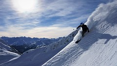 ski (pascal.keck) Tags: skiing ski snow mountain sky pow powder skifahren berge winter