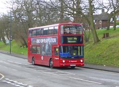 SLN 18465 - LX55EPP - OSF - WATLING STREET BEXLEYHEATH - FRI 15TH MAR 2019 (Bexleybus) Tags: bexleyheath kent da7 watling street stagecoach london selkent tfl route 96 adl dennis trident alx400 alexander 18465 lx55epp