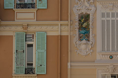 Shutters and Facade Decorations, Monaco (Peter Cook UK) Tags: france monaco decoration 2019 facade shutters
