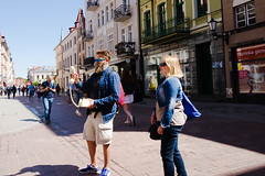 (the cobblestonesman) Tags: nikon d7100 18mm colour streetphotography street poland people candid