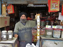 paharganj, new delhi (gerben more) Tags: paharganj newdelhi delhi beard turban sikh shop man india people portrait portret