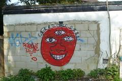 Lovers Walk Graffiti, Church End (Loz Flowers) Tags: london barnet graffiti finchley