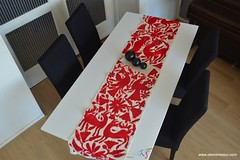 Table runner in red | Otomi Mexico (Otomi Mexico) Tags: red otomi runner table mexico arte casa house embroidery embroidered nederland home decor mexican decorations decoration room living