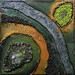 ''Green Earth'' by Lynette A, mixed media, $95.00