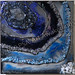 ''Blue Sparkle'' by Lynette A, mixed media, $95.00