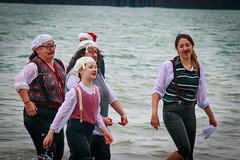 Gumbys at the Boxing Day Dip - Folkestone, Kent (BeerAndLoathing) Tags: 2018 december folkestone englandtrip england winter uktrip people canon kent sea beach winter2018 canoneos77d 77d events crowds trip boxingday seafront cold uk sigma18300mm