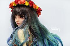 DSC_2115 (sonya_wig) Tags: fairytreewigs wig bjdwig minifeewig bjd bjdminifee minifeechloe handmadedoll bjddoll dollphoto fairyland fairylandminifee minifee chloe bjdphotographycoloringhair