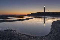 The Lighthouse (Sander Grefte) Tags: beach light lighthouse vuurtoren strand sea ocean zee noordzee northsea landscape landschap zonsopkomst sunrise bluehour sky colors kleuren